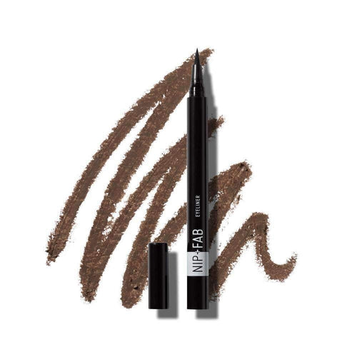 Nip+Fab Eyebrow Pencil Ash Brown 0.3g-MAKEUP-Nip+FAB-IKONOMAKIS