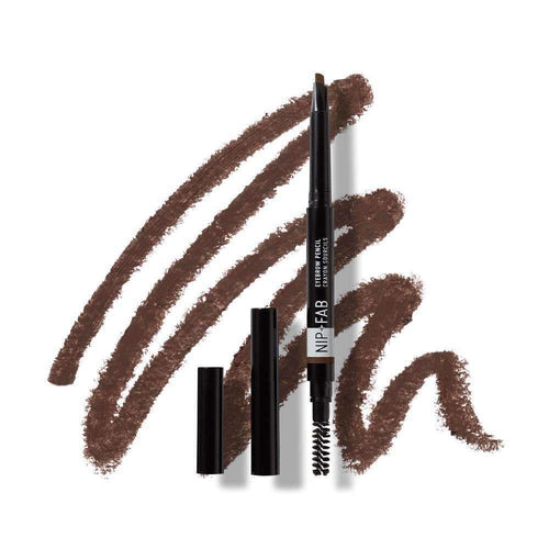 Nip+Fab Eyebrow Pencil Chestnut 0.3g-MAKEUP-Nip+FAB-IKONOMAKIS