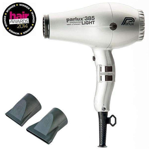 Parlux 385 Power Light Silver 2150Watt-Styling tools-Parlux-IKONOMAKIS