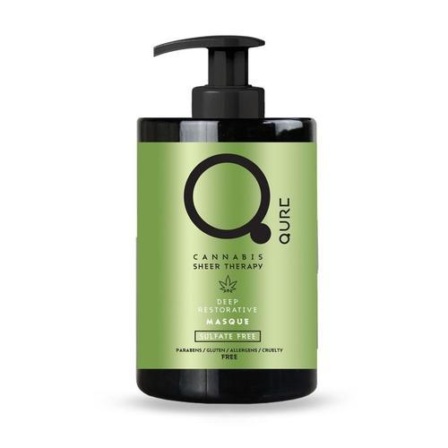 Qure Cannabis Sheer Therapy Deep Restorative Masque 300ml-Μαλλιά-IKONOMAKIS-IKONOMAKIS