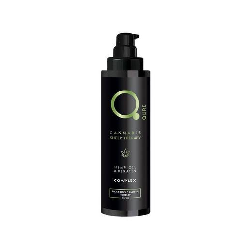 Qure Cannabis Sheer Therapy Hemp Oil & Keratin Complex 100ml-Μαλλιά-IKONOMAKIS-IKONOMAKIS