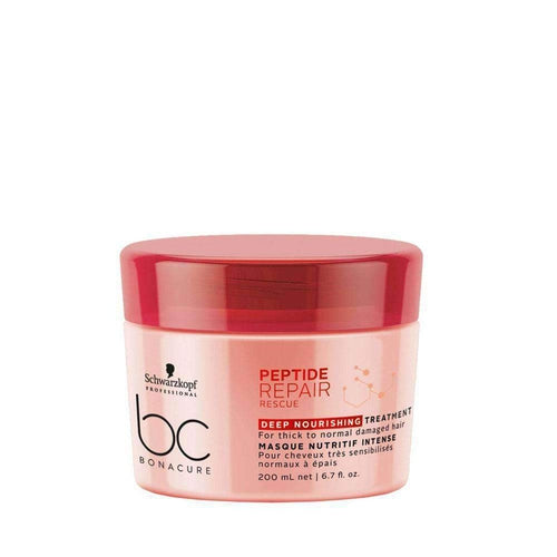 Schwarzkopf Professional BC Peptide Repair Rescue Deep Nourishing Treatment 200ml-Μαλλιά-Schwarzkopf Professional-IKONOMAKIS