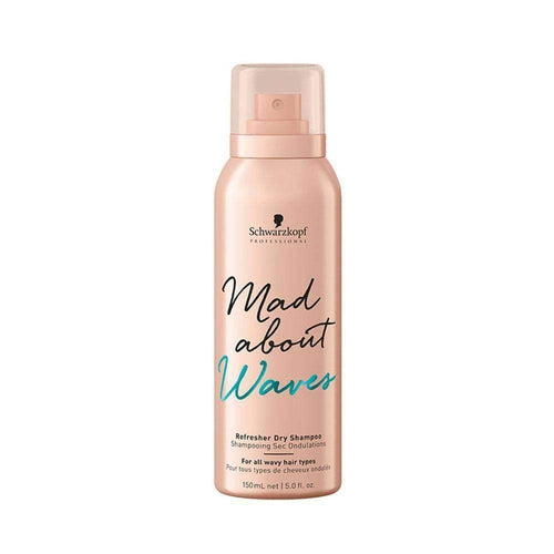 Schwarzkopf Professional Mad About Waves Refresher Dry Shampoo 150ml-Μαλλιά-Schwarzkopf Professional-IKONOMAKIS