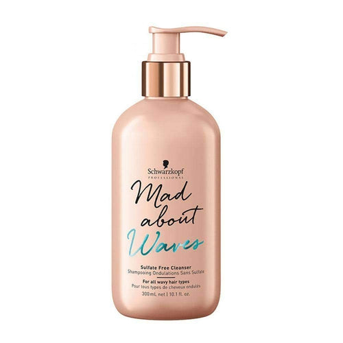 Schwarzkopf Professional Mad About Waves Sulfate Free Cleanser 300ml-Μαλλιά-Schwarzkopf Professional-IKONOMAKIS