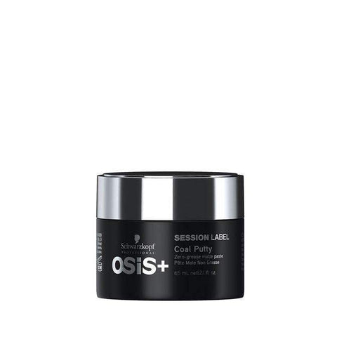 Schwarzkopf Professional OSiS+ Session Label Coal Putty 65ml-Μαλλιά-Schwarzkopf Professional-IKONOMAKIS