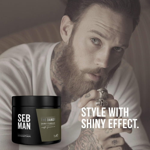 Sebastian Professional Seb Man The Dandy Light Hold Pomade 75ml-Beard-Sebastian Professional-IKONOMAKIS