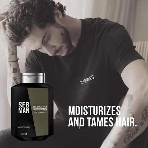 Sebastian Professional Seb Man The Smoother Conditioner 250ml-Beard-Sebastian Professional-IKONOMAKIS