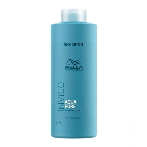 Wella Professionals Invigo Balance Aqua Pure Purifying Shampoo 1000ml-Μαλλιά-Wella Professionals-IKONOMAKIS
