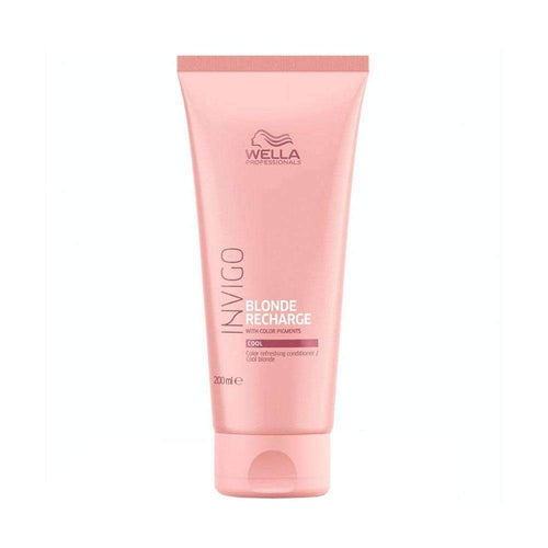 Wella Professionals Invigo Blonde Recharge Cool Color Refreshing Conditioner 200ml-Μαλλιά-Wella Professionals-IKONOMAKIS