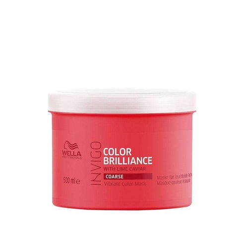 Wella Professionals Invigo Color Brilliance Mask Coarse Hair 500ml-Μαλλιά-Wella Professionals-IKONOMAKIS