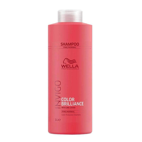 Wella Professionals Invigo Color Brilliance Shampoo Fine Normal Hair 1000ml-Μαλλιά-Wella Professionals-IKONOMAKIS