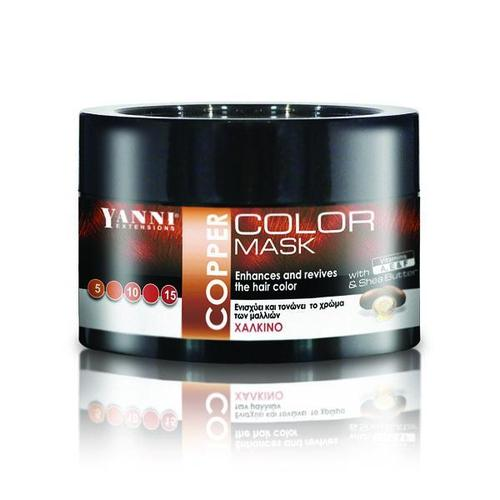 Yanni Color Mask Copper 250ml-Μαλλιά-YANNI-IKONOMAKIS