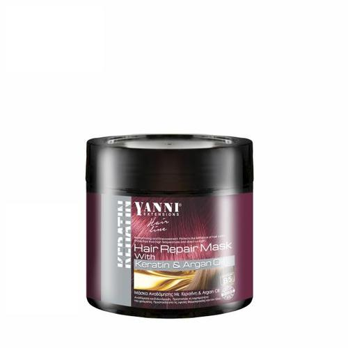 Yanni Keratin Mask 500ml-Μαλλιά-YANNI-IKONOMAKIS
