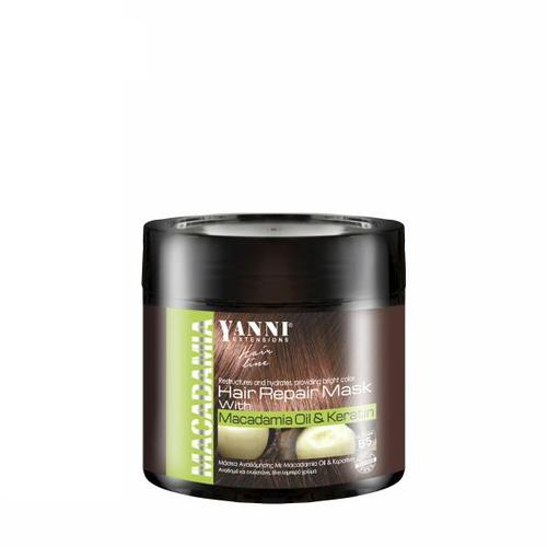 Yanni Macadamia Mask 500ml-Μαλλιά-YANNI-IKONOMAKIS
