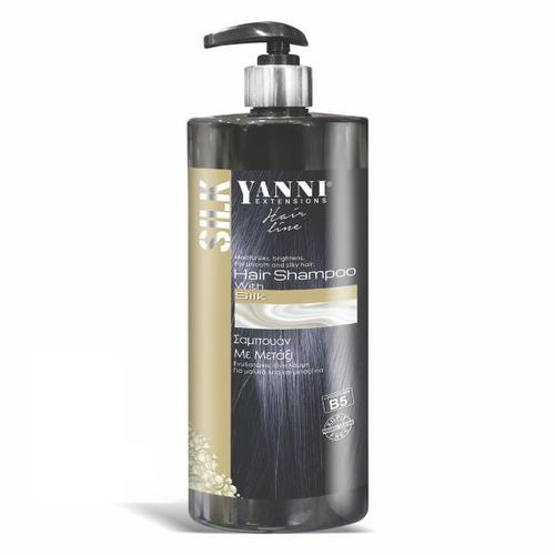 Yanni Silk Shampoo 1000ml-Μαλλιά-YANNI-IKONOMAKIS