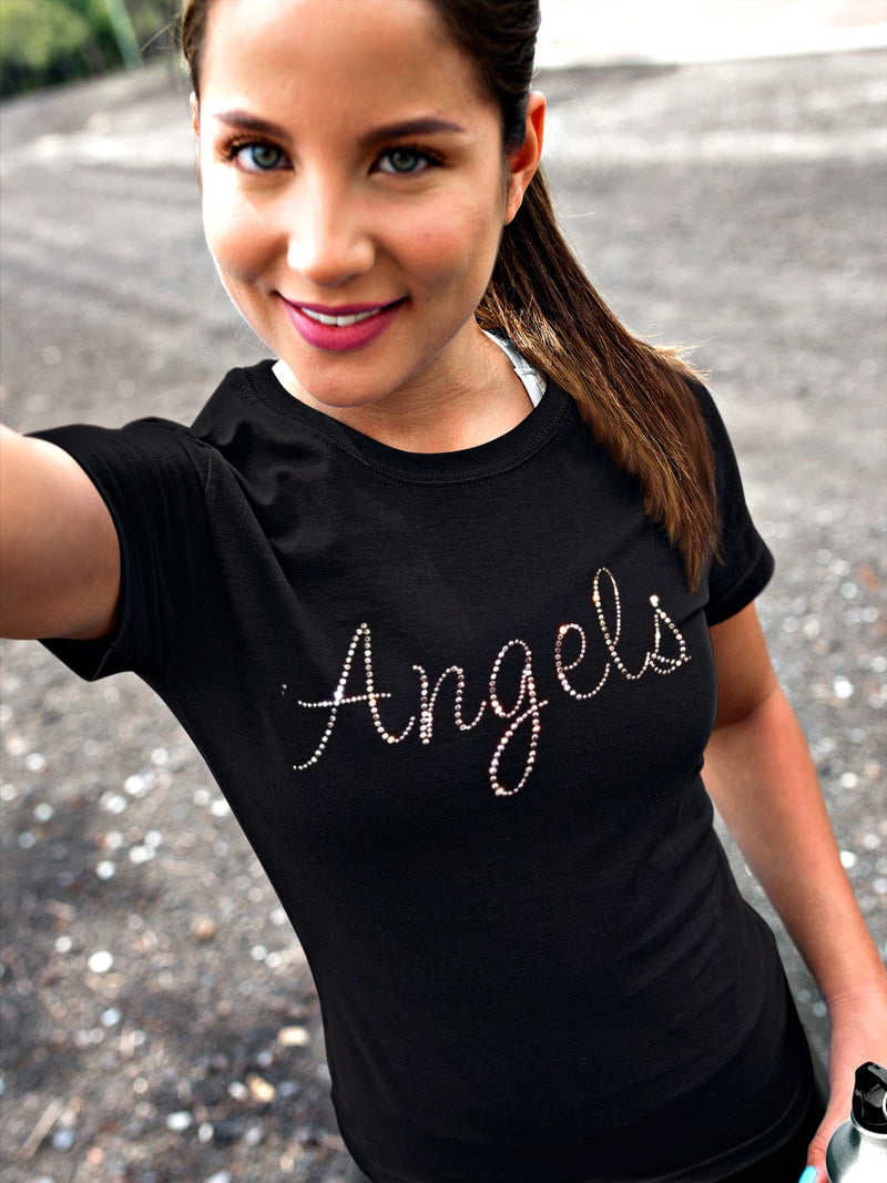 Angel Rhinestone T-Shirt