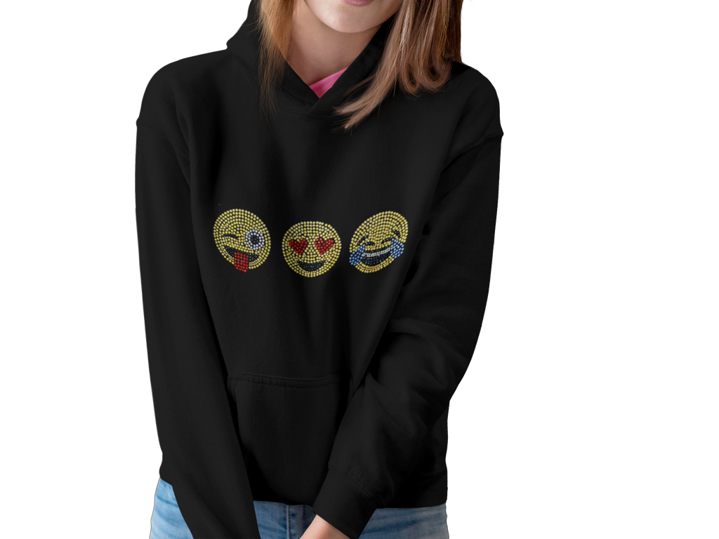 Happy Emoji Hooded Sweater