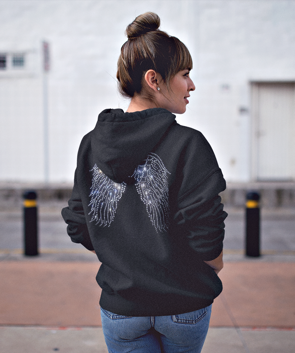 Angel Wings Hoodie Sweater Sweatshirt