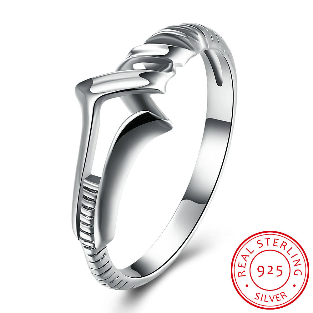 Personality arrow Ring for weman