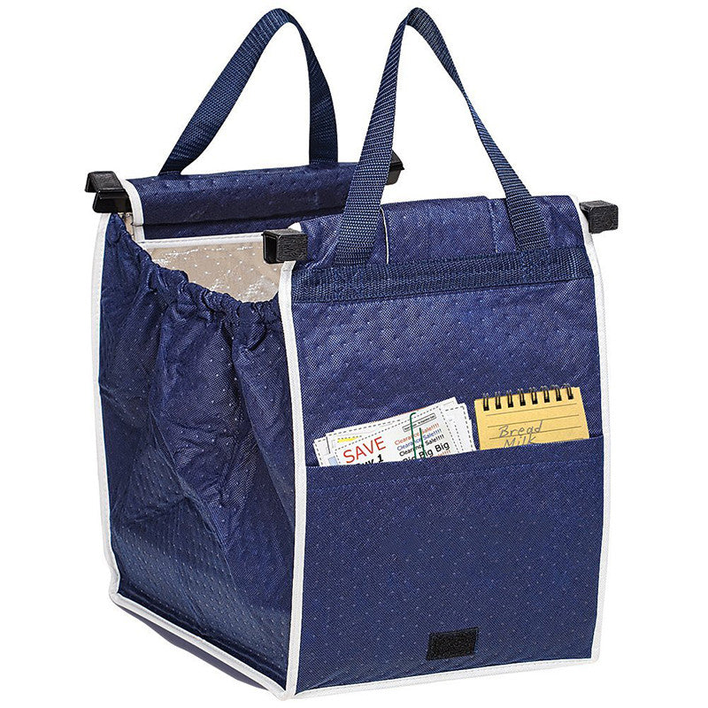 Insulated Reusable Grab Bag Grocery Shopping Tote