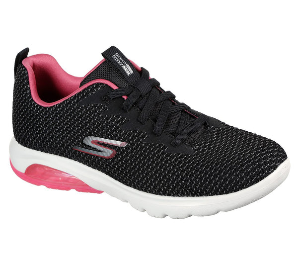 Skechers Go Walk Air Blk/Hot Pink 124337/BKHP