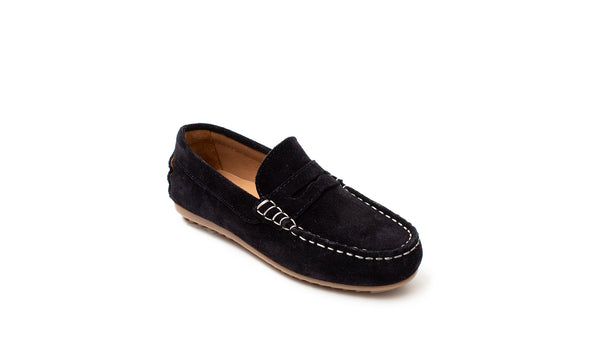 Petasil Connor Navy Suede