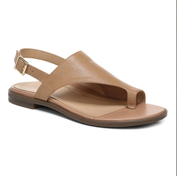 Vionic Ella Leather backstrap sandal Tan