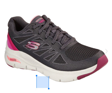 Skechers Arch Fit Charcoal/Pink 149411
