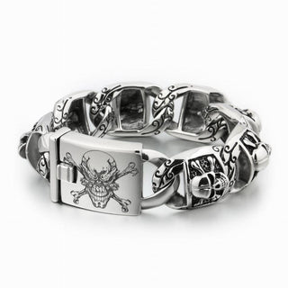 Ride Now Or Never Bracelet Heavy 316L Stainless Steel Biker Bracelet