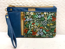 Double Zip Clutch - Meadow