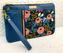 Double Zip Clutch - Rosa