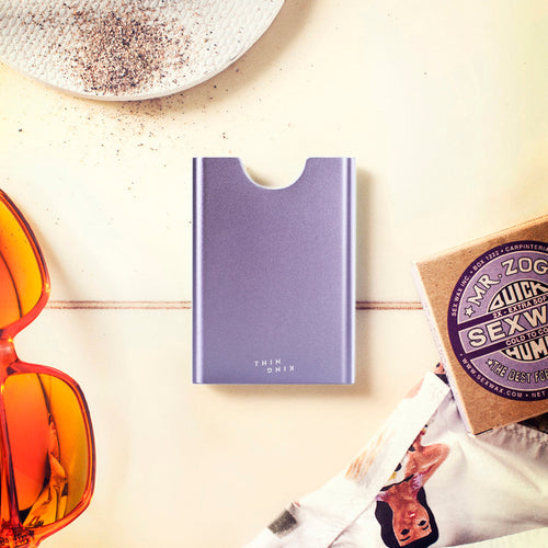 Thin King credit card case - Lavender