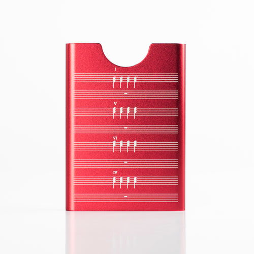 Thin King credit card case - Red 4Chords