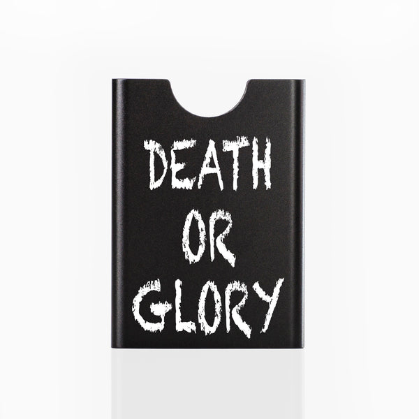 Thin King credit card case - New Black Death of Glory
