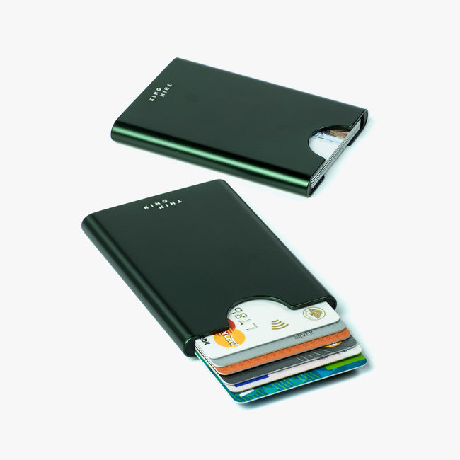 Thin King credit card case - Bullitt Green