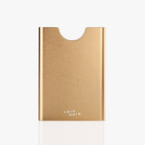 Thin King aluminum credit card case - Champagne Mandala