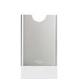 Thin King everyday carry aluminum card holder in silver colour