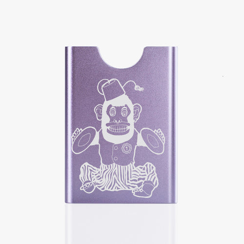 Thin King credit card case - Lavender Monkey