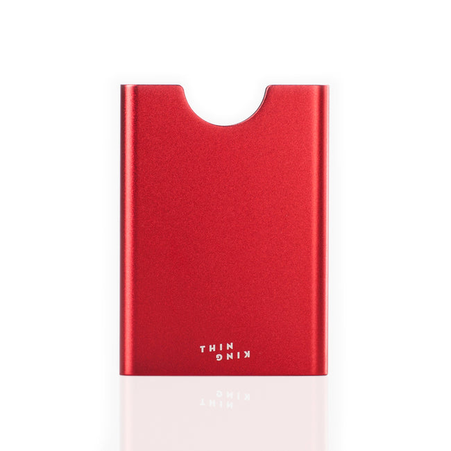 Thin King credit card case - Red notes - Thin King card case