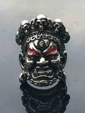Stainless Steel Yamantaka Ring