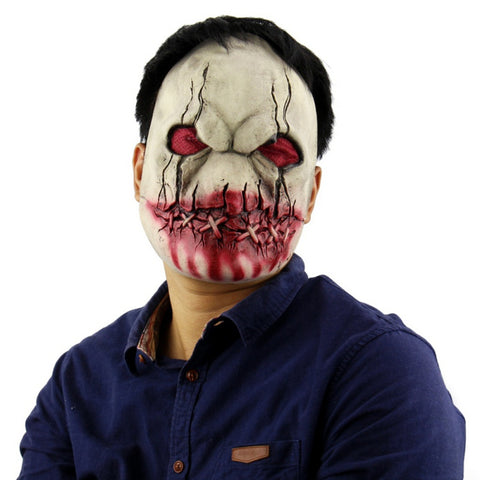 Latex Halloween Demon Mask