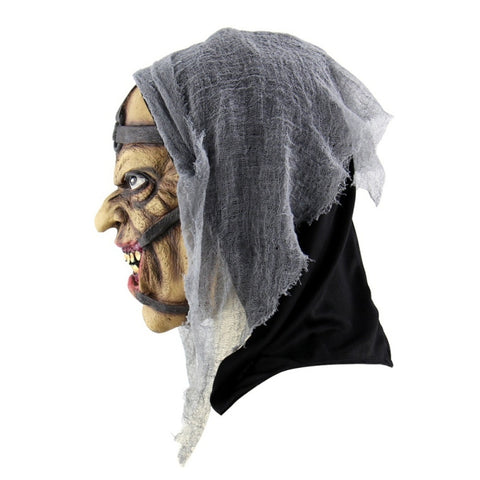 Latex Halloween Crypt Keeper Mask