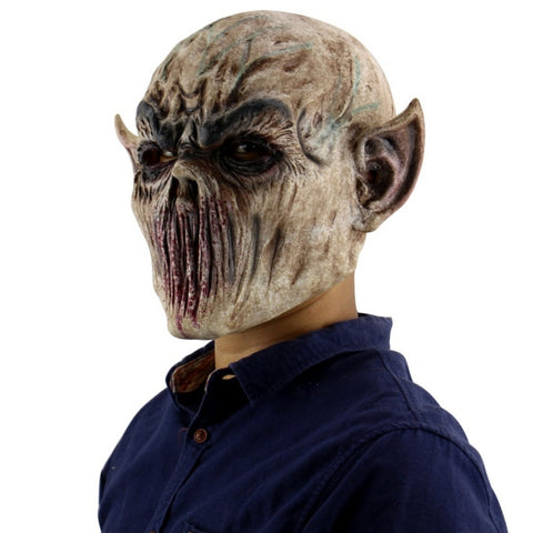 Latex Halloween Horror Demon Mask