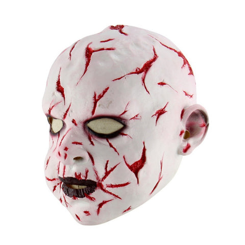 Latex Halloween Horror Baby Mask