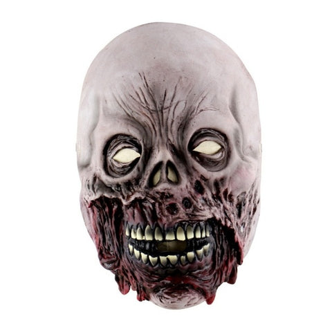 Latex Halloween Zombie Mask