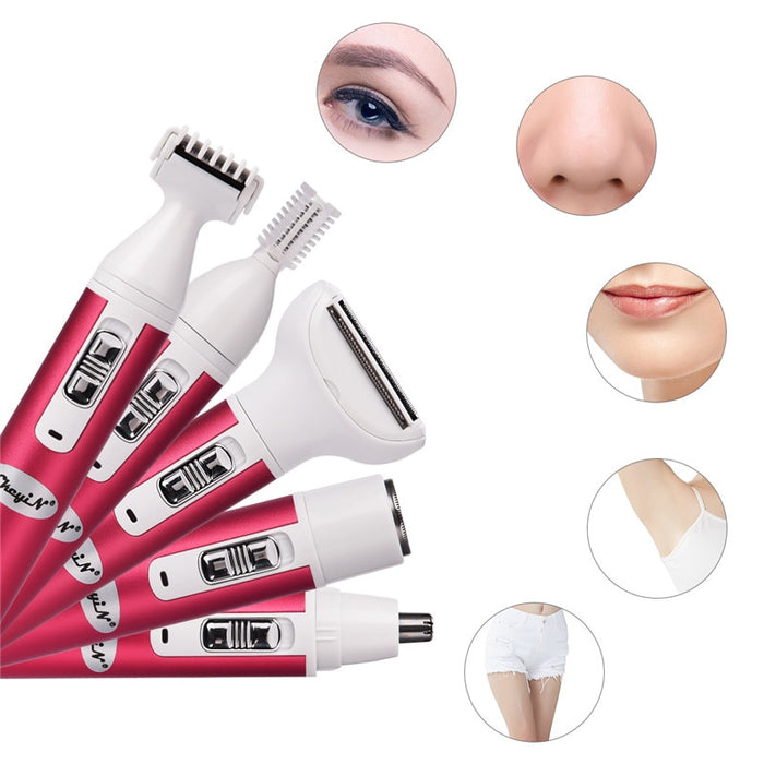 5 in 1 Flawless Hair Remover