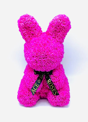 Rose Bunny (Faux)