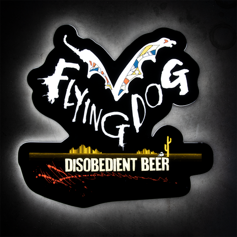 Flying Dog LED Sign