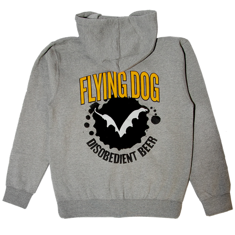 Flying Dog Zip Hoodie