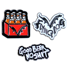 Flying Dog Pins